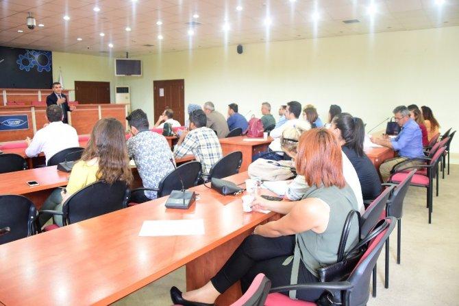 İpekyolu Belediyesinde hizmet içi eğitim