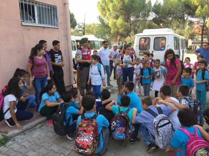 Jandarma okul servis denetimleri başladı