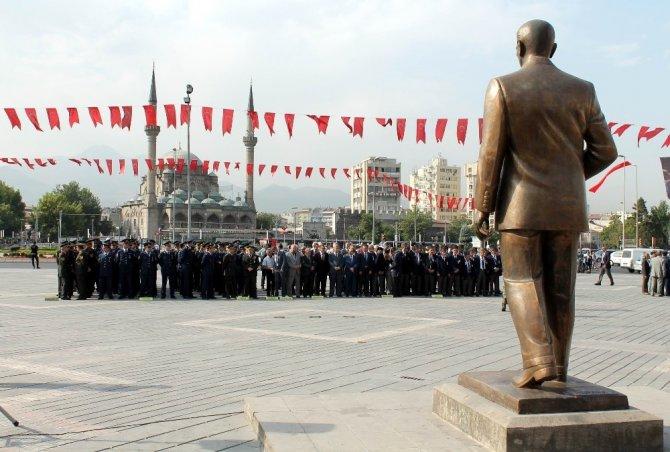 Kayseri'de Gaziler Günü Kutlaması yapıldı