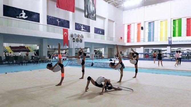 Cimnastik Milli Takımı Mersin'de