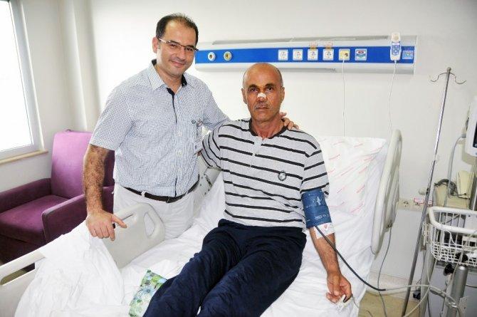 Tarsus'ta ilk endoskopik DSR Medical Park'ta yapıldı