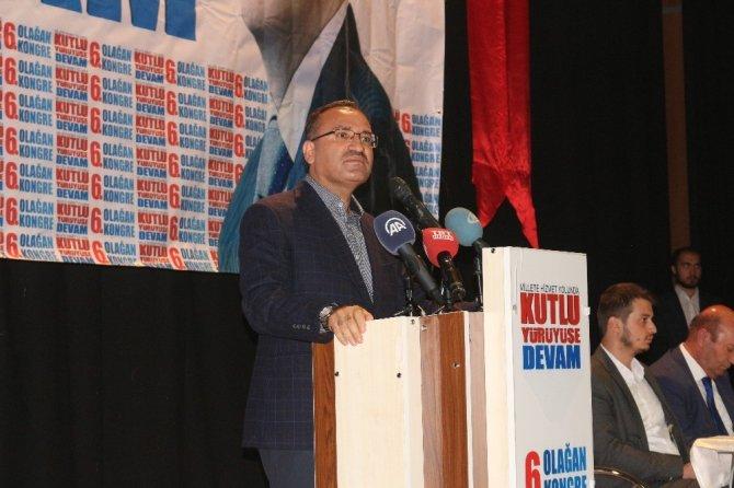 """Bekir Bozdağ: """"Pek çok kirli operasyona Türkiye şahit olacaktır"""""""