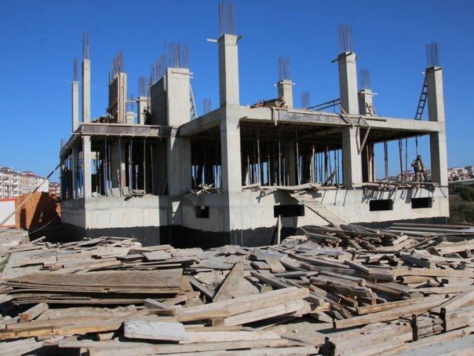 MOBESE bina inşaatı devam ediyor