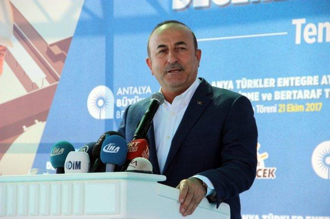 """Çavuşoğlu'ndan Avrupa Birliği ve Almanya'ya sert gönderme: """" Türkiye'den bir sonuç alamazsın"""""""