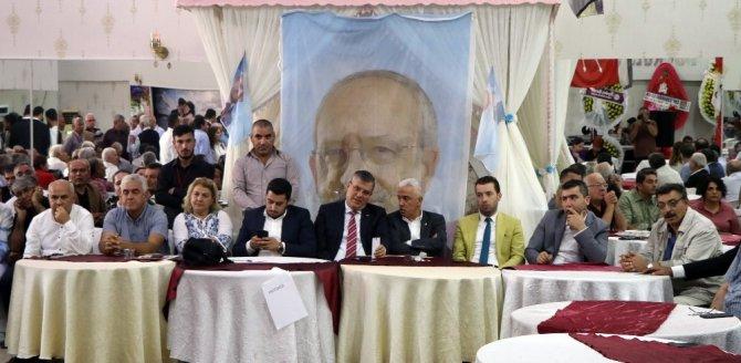 CHP Sarıçam'da Celal Güven yeniden başkan
