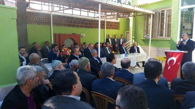 Ayanzade Merkez Kur'an Kursu törenle açıldı
