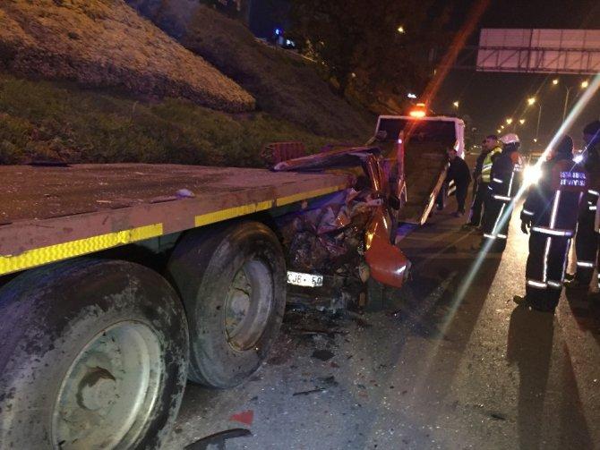 Maltepe'de feci kaza; 1 ölü