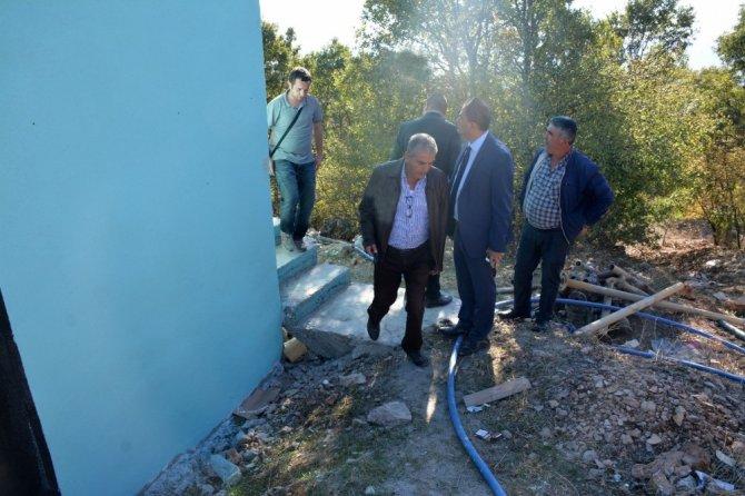 Gördes'in içme suyu depoları yenileniyor