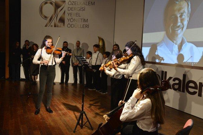 Çocuk Senfoni Orkestrası'na büyük ödül