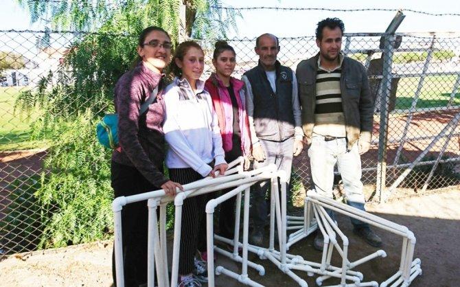 Burhaniye'de özel sporculara belediye desteği