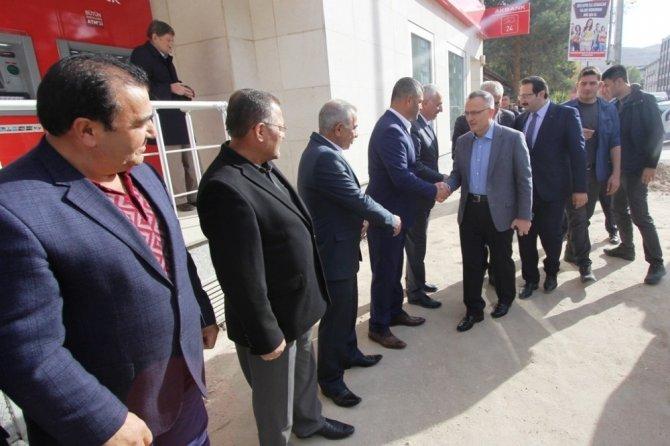 Maliye Bakanı Ağbal'dan Bayburt Belediyesi'ne ziyaret