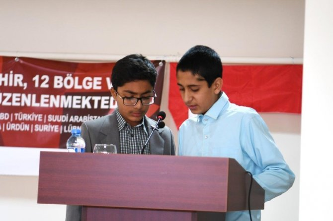 Endonezyalı öğrencilerden Kur'an ziyafeti
