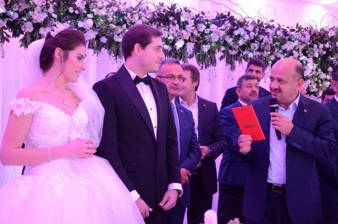 Başbakan Yardımcısı Işık, nikah şahitliği yaptı