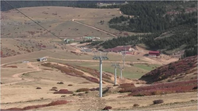 Çambaşı Yaylası Kayak Tesisleri Aralık'ta açılacak
