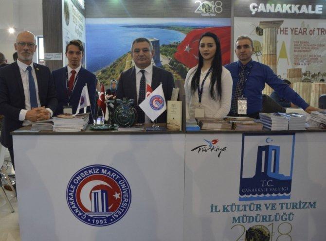 Travel Turkey'de ÇOMÜ rüzgarı