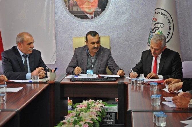 Gölbaşı Belediyesi Aralık Ayı Meclis Toplantısı gerçekleştirildi