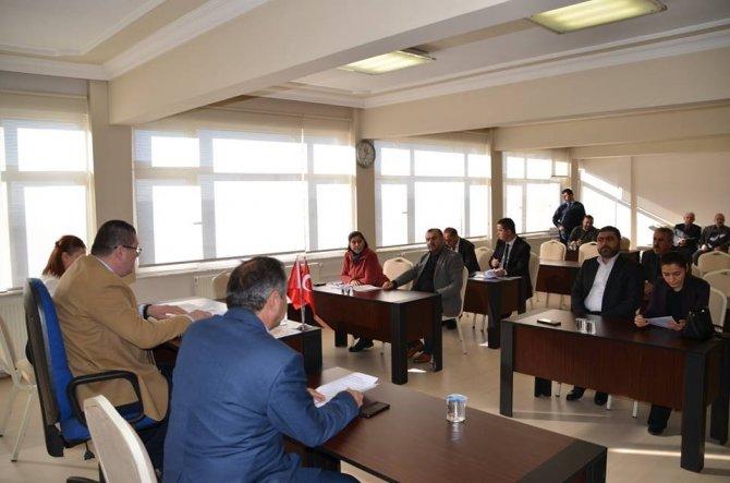 Alaplı Belediye Meclisi'nde yılın son toplantısı yapıldı