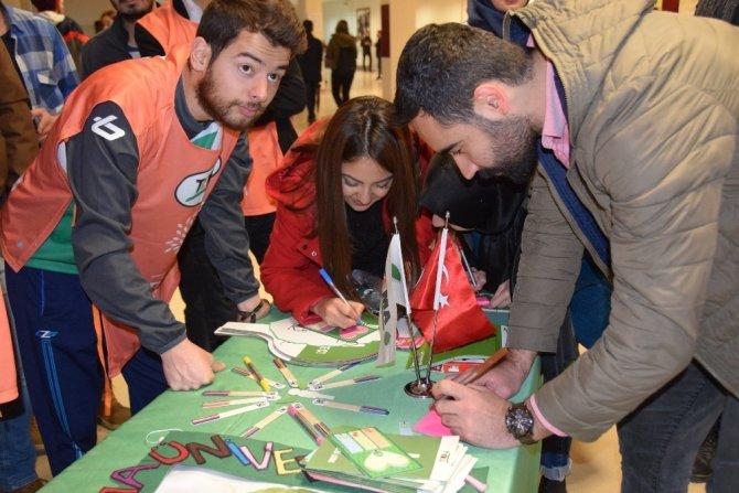 Dünya Gönüllüler Günü düzenlenen yarışmayla kutlandı
