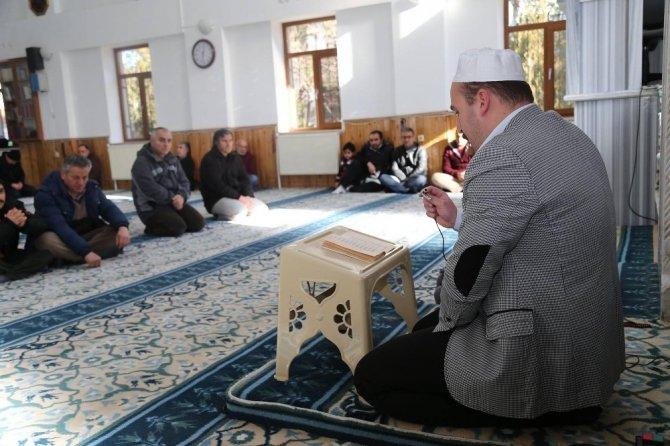 Başkan Duruay, mesai arkadaşı Aksakal'ı unutmadı