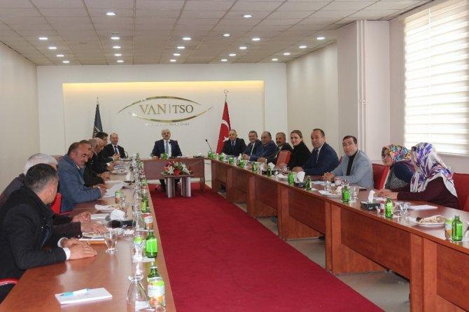 Van'da İZDES toplantısı