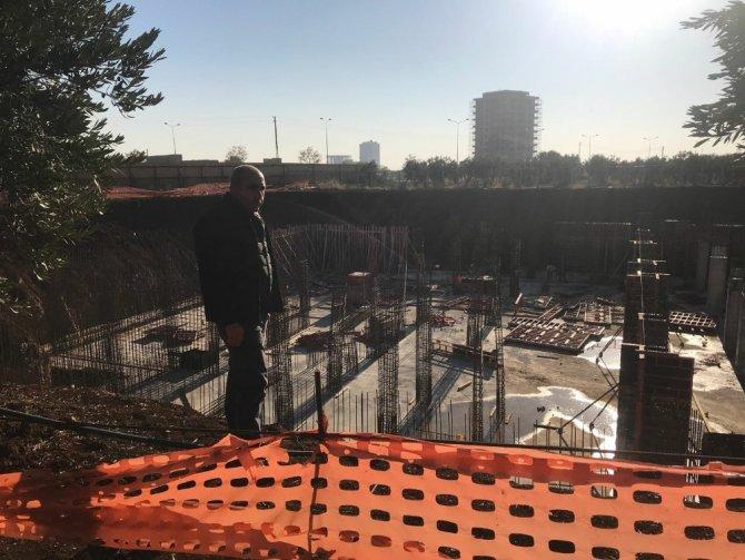 Başkan Kara yapımı devam eden belediye hizmet incelemelerde bulundu