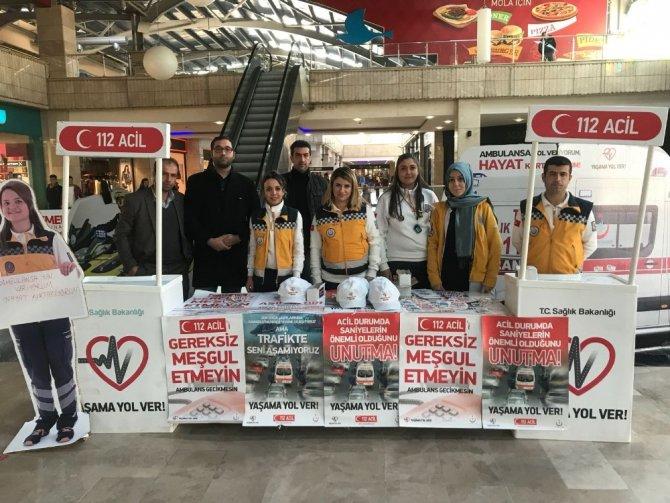 Mardin 112 'Yaşama Yol Ver'iyor
