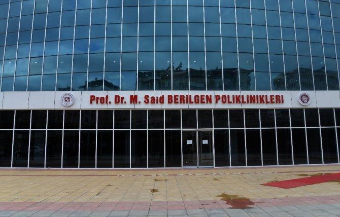 Merhum Berilgen'in ismi poliklinik binasına verildi