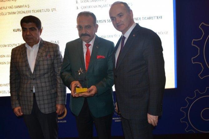 Mersin'de 2016 yılının ihracat birincisi Arbel A.Ş. oldu