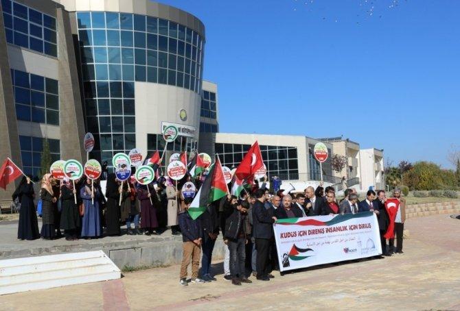 Harran Üniversitesi'nden ABD ve İsrail tepkisi