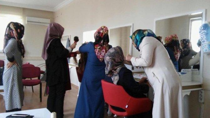 Kadınlardan Adıyaman Belediyesi kurslarına yoğun ilgi