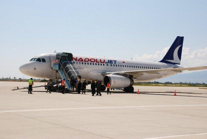 Koca Seyit'in yolcu sayısı 400 bini geçti