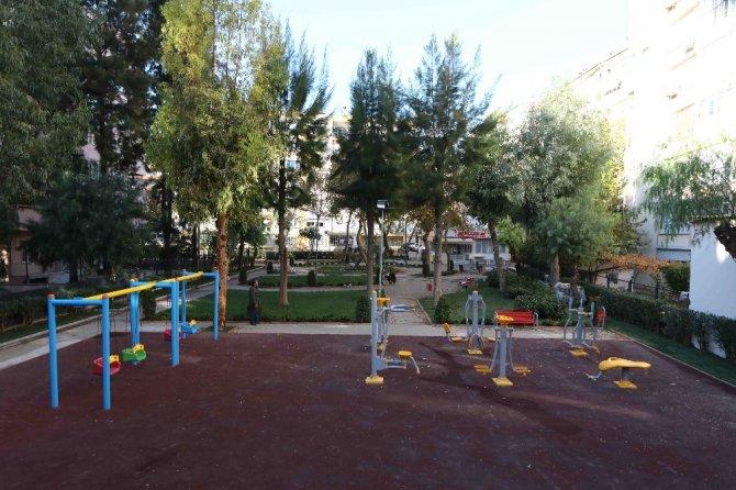 "Bayraklı'ya ""modern"" parklar"