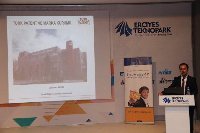 Erciyes Teknopark ve Türk Patent 'Patentle TÜRKİYE' Yarışmasını Tanıttı