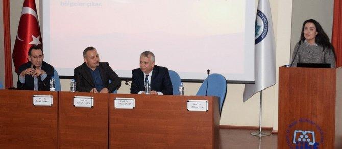 ESOGÜ'de 'Bozkır Kültürü ve Eski Türk Yazıtları' paneli düzenlendi