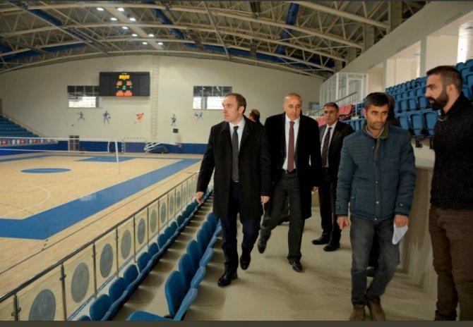 Başkan Epcim, 25 milyonluk spor kompleksini denetledi