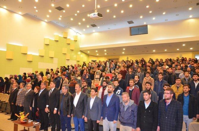 HRÜ'de İslam'ın Harem-i İzzeti Kudüs paneli
