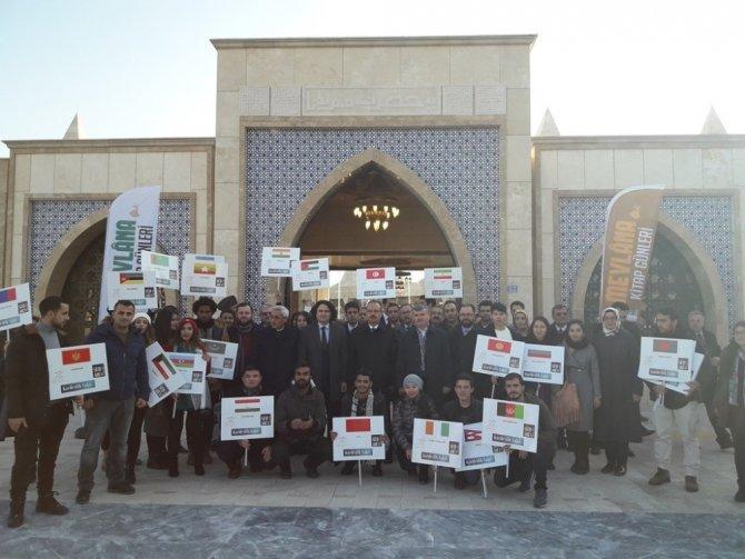 Kocaeli Büyükşehir Belediyesi Uluslararası öğrencileri Konya'ya götürdü