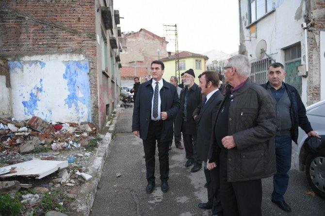 Dündar Ebu İshak Mahallesi'ni ziyaret etti