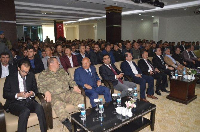 """Şırnak Valisi Mehmet Aktaş: """"Terörle mücadele son terörist kalıncaya kadar sürecek"""""""