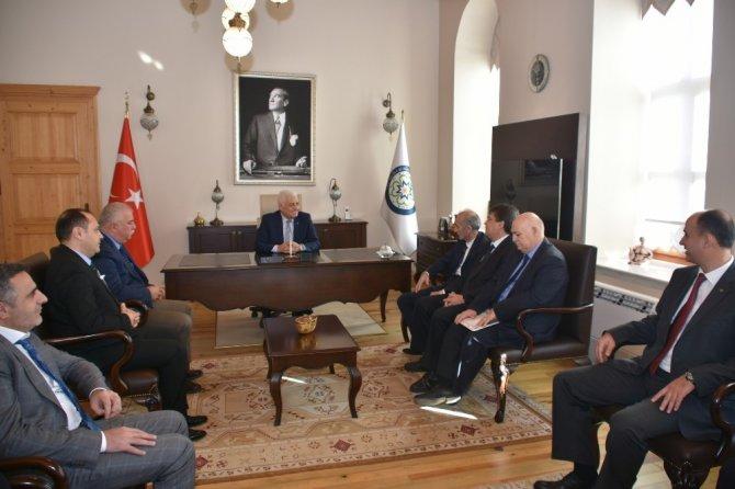 Aydın şoför esnafından Başkan Gürün'e ziyaret