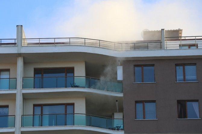 Zonguldak'ta çıkan yangın korkuttu