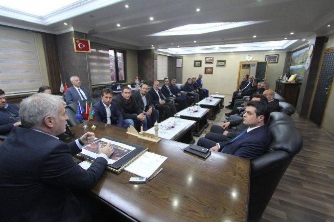 AK Parti Merkez İlçe Yönetiminden Başkan Memiş'e ziyaret