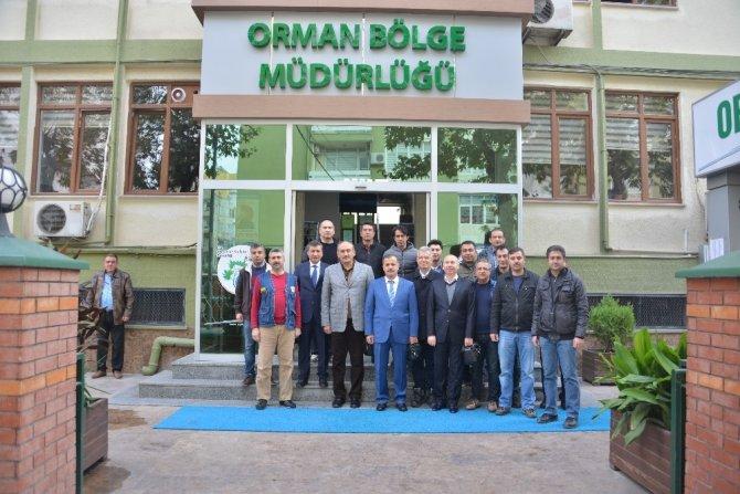 Kayseri Orman Bölge Müdürlüğü teknik ekibi, Mersin'de orman sahalarını inceledi