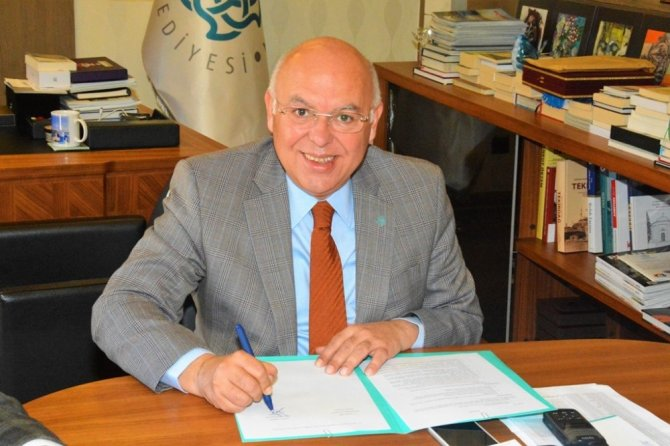 Kiraz Bahçesi projesi için imzalar atıldı