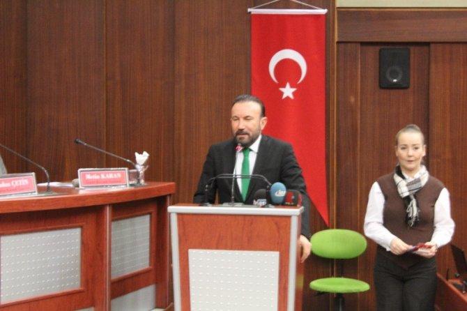 """Başkan Doğan: """"Bugün burada Mustafa Kemal Atatürk var"""""""