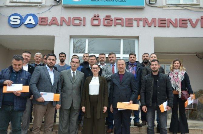 Başkan Karadağ ile deleger ile buluşuyor