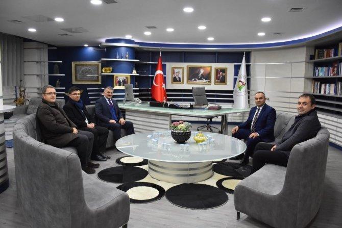 Balıkesir Valisi Başkan Ay'ı ziyaret etti