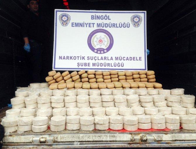 Bingöl'de nefes kesen operasyon: 304 kilo eroin ele geçirildi