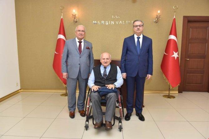 Dünya Engelliler Birliği'nin Genel Kurulu Mersin'de yapılacak