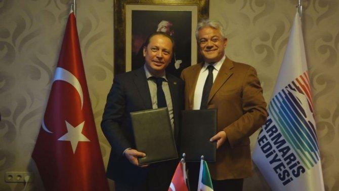 Tataristan heyeti Marmaris'te iyi niyet protokolü imzalandı